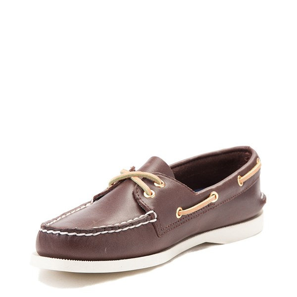 alternate view Womens Sperry Top-Sider Authentic Original Boat Shoe - BrownALT3