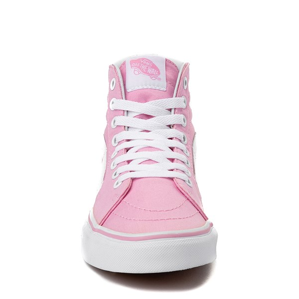 alternate view Vans Sk8 Hi Skate Shoe - Prism PinkALT4