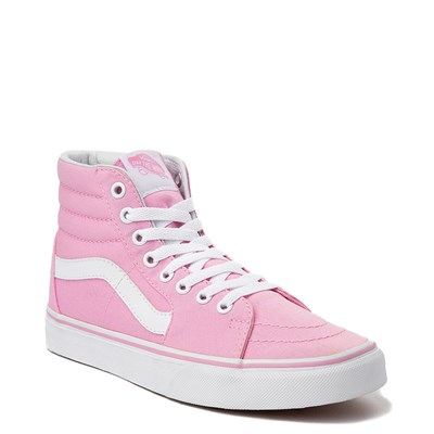 Alternate view of Prism Pink Vans Sk8 Hi Skate Shoe