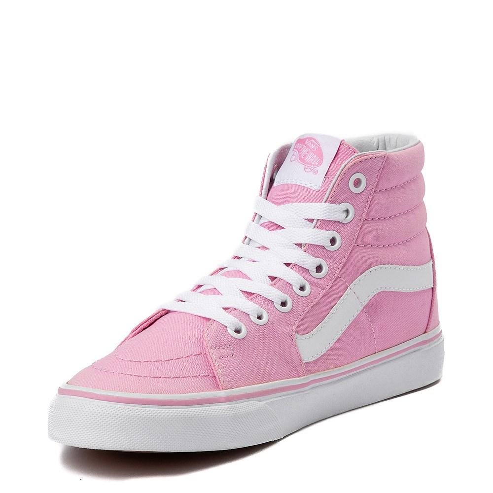 mesa inyectar Cita  Vans Sk8 Hi Skate Shoe - Prism Pink | Journeys