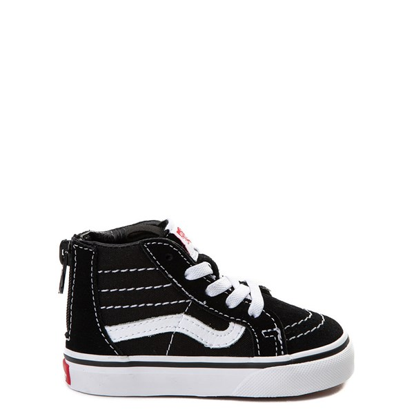 Main view of Vans Sk8 Hi Skate Shoe - Baby / Toddler - Black