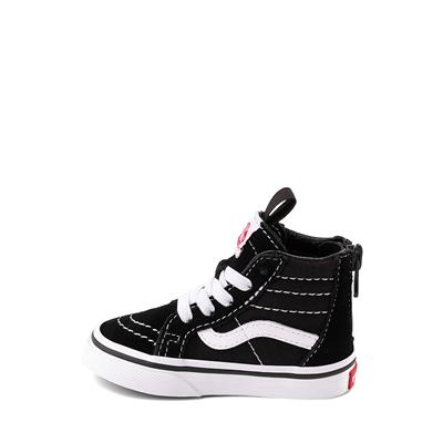 Alternate view of Vans Sk8 Hi Skate Shoe - Baby / Toddler - Black
