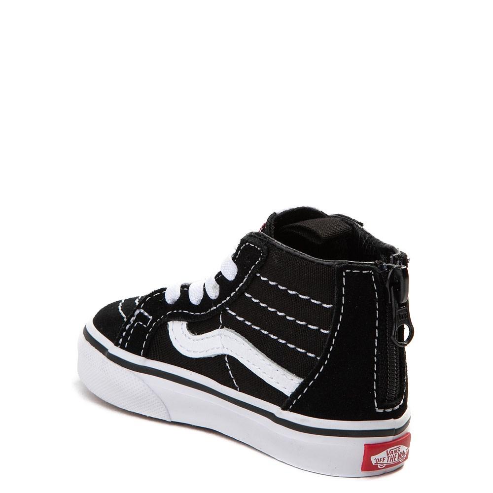 Vans Kleinkinder Sk8 hi Schuhe (1 4 Jahre) (black) Toddler