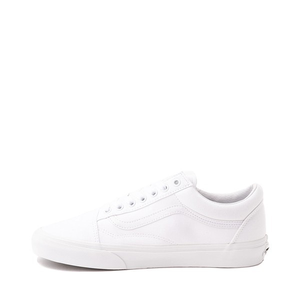 alternate view Vans Old Skool Skate Shoe - White MonochromeALT1
