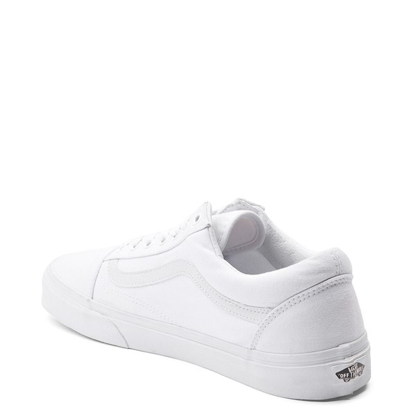 alternate view Vans Old Skool Skate Shoe - White MonochromeALT1C