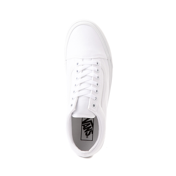 alternate view Vans Old Skool Skate Shoe - White MonochromeALT2