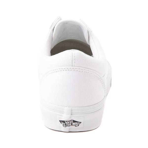 alternate view Vans Old Skool Skate Shoe - White MonochromeALT4