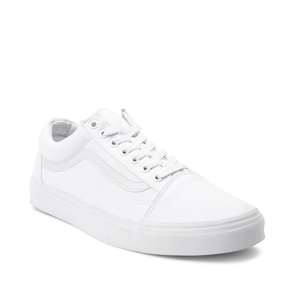 alternate view Vans Old Skool Skate Shoe - White MonochromeALT5