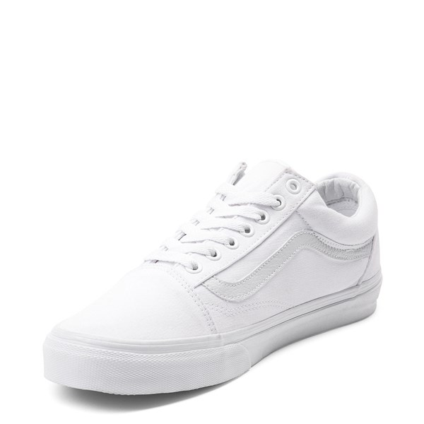 alternate view Vans Old Skool Skate Shoe - White MonochromeALT3