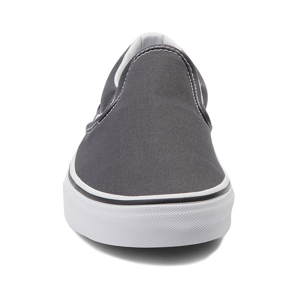 alternate view Vans Slip On Skate Shoe - CharcoalALT4