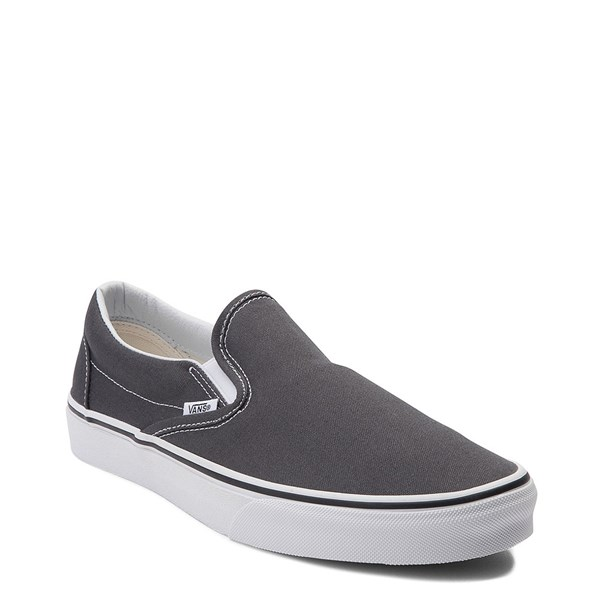 Alternate view of Vans Slip On Skate Shoe - Charcoal