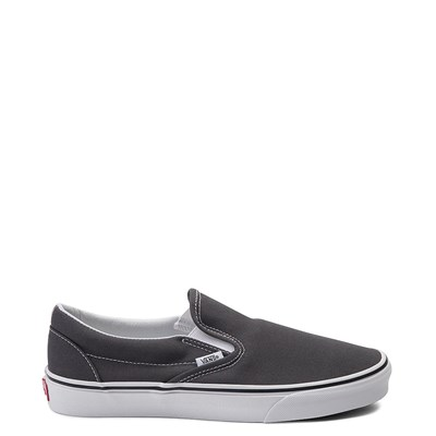 Main view of Charcoal Vans Slip On Skate Shoe
