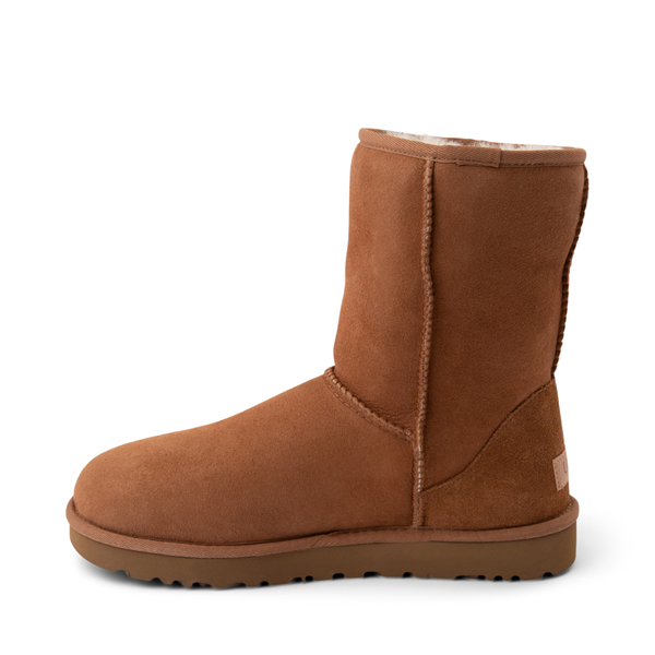 alternate view Womens UGG® Classic Short II Boot - ChestnutALT1