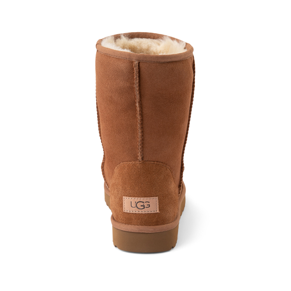 alternate view Womens UGG® Classic Short II Boot - ChestnutALT4