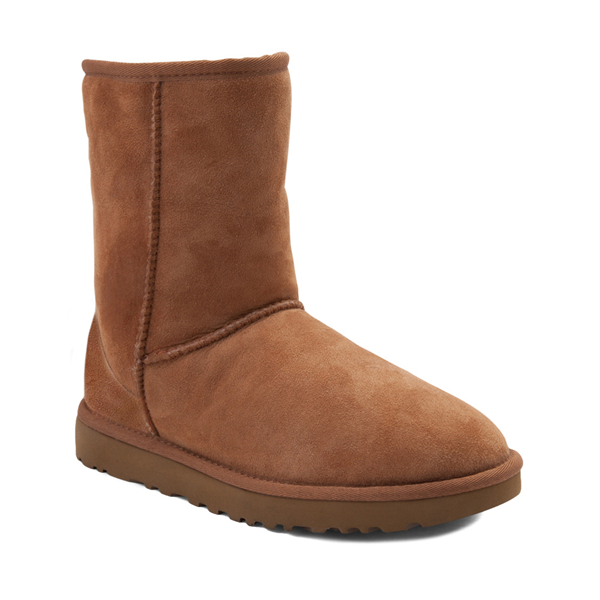alternate view Womens UGG® Classic Short II Boot - ChestnutALT5