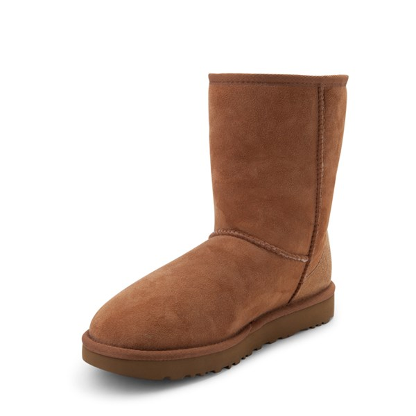 alternate view Womens UGG® Classic Short II Boot - ChestnutALT3