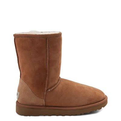 Main view of Womens UGG Classic Short II Boot in Brown