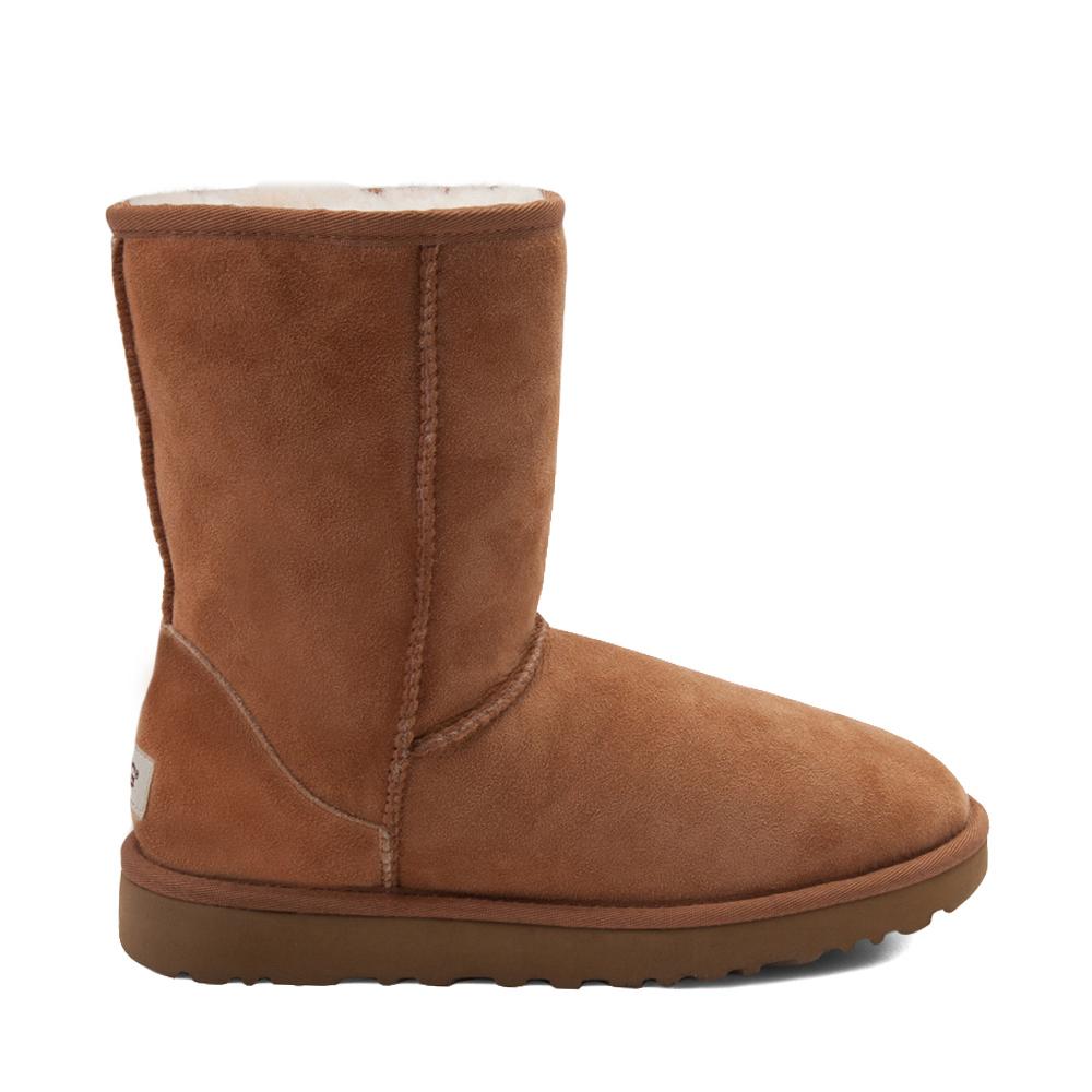Womens UGG® Classic Short II Boot - Chestnut