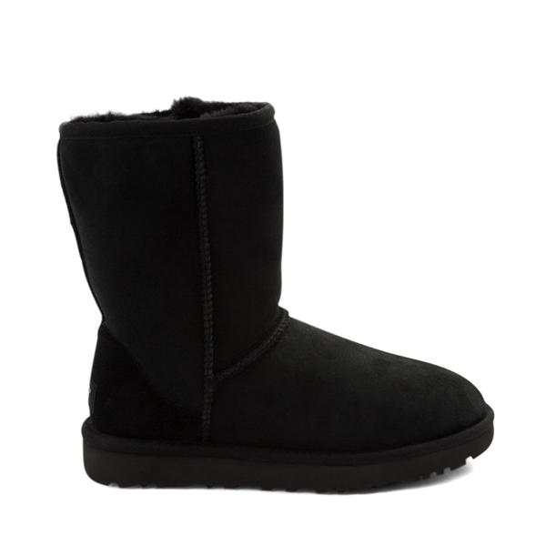 Main view of Womens UGG® Classic Short II Boot - Black