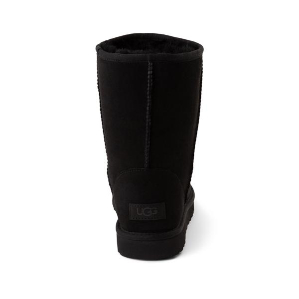 alternate view Womens UGG® Classic Short II Boot - BlackALT4