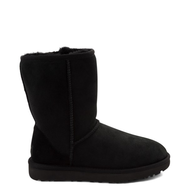 Main view of Womens UGG® Classic Short II Boot - Black