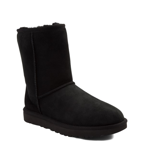 alternate view Womens UGG® Classic Short II Boot - BlackALT1