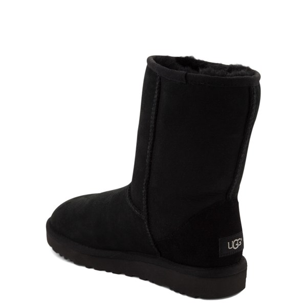 alternate view Womens UGG® Classic Short II Boot - BlackALT2