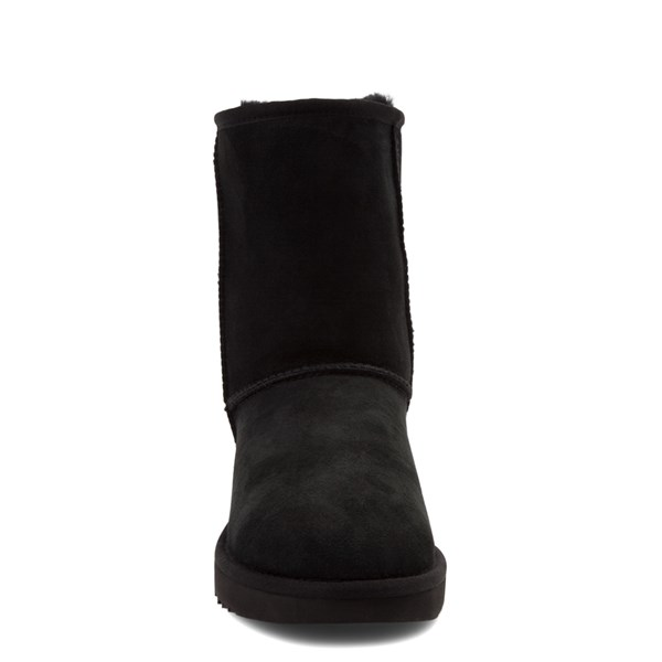 alternate view Womens UGG® Classic Short II Boot - BlackALT4