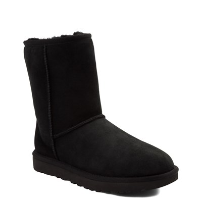 Alternate view of Womens UGG® Classic Short II Boot - Black