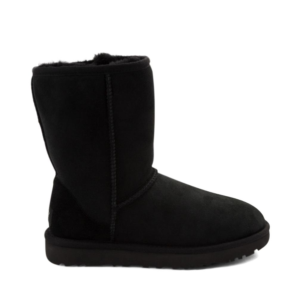 Womens UGG® Classic Short II Boot - Black