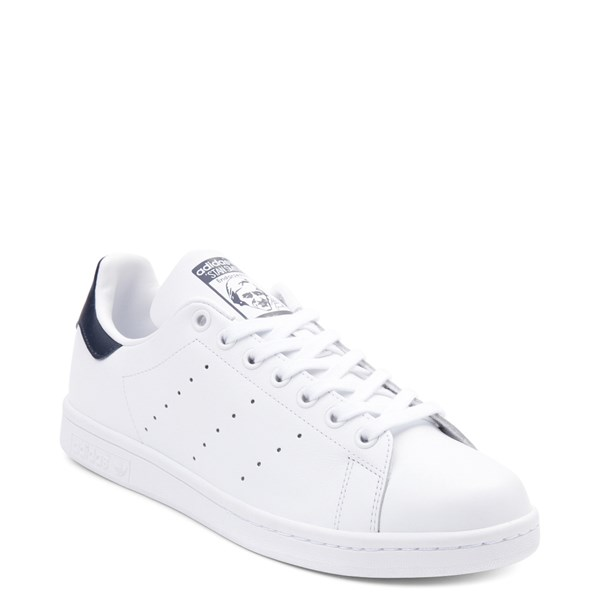 alternate view Mens adidas Stan Smith Athletic Shoe - White / NavyALT1