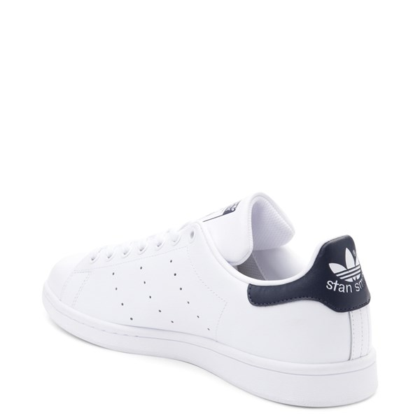 alternate view Mens adidas Stan Smith Athletic Shoe - White / NavyALT2