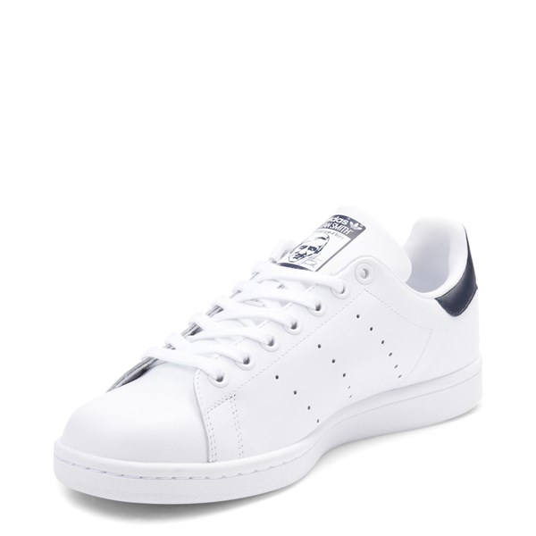 alternate view Mens adidas Stan Smith Athletic Shoe - White / NavyALT3