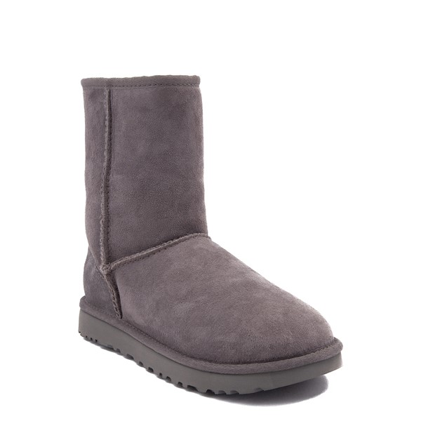 Alternate view of Womens UGG® Classic Short II Boot - Gray