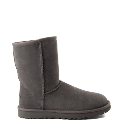 Main view of Womens UGG Classic Short II Boot in Gray