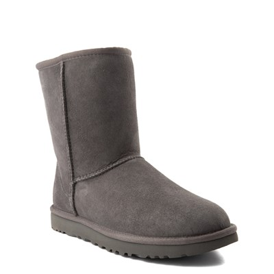 Alternate view of Womens UGG Classic Short II Boot in Gray