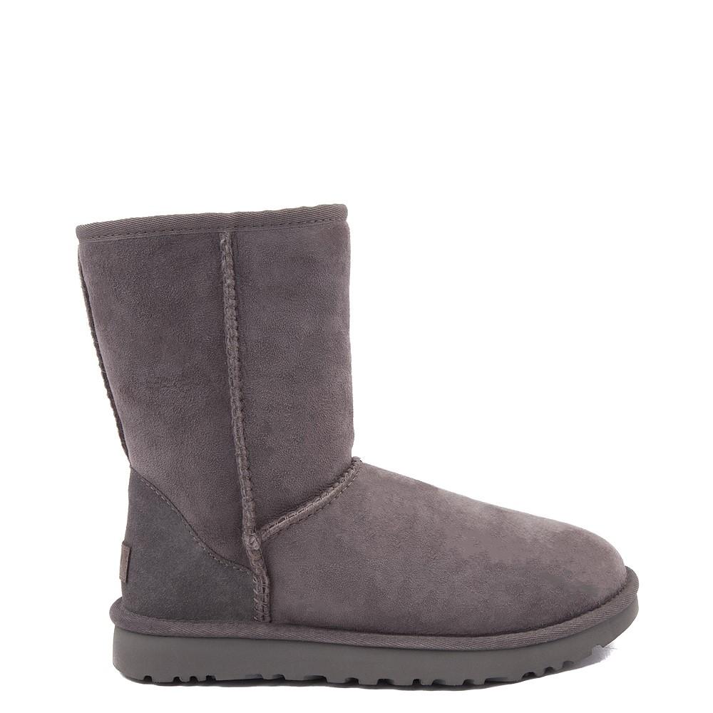 Womens UGG® Classic Short II Boot - Gray