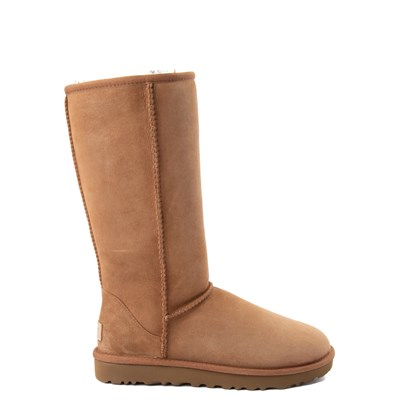 Main view of Womens UGG Classic Tall II Boot in Brown