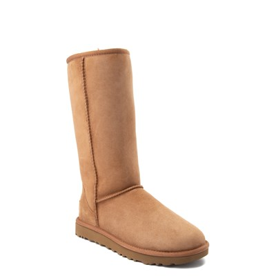 Alternate view of Womens UGG Classic Tall II Boot in Brown