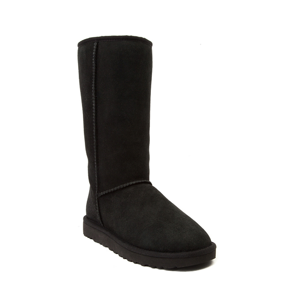 alternate view Womens UGG® Classic Tall II Boot - BlackALT5