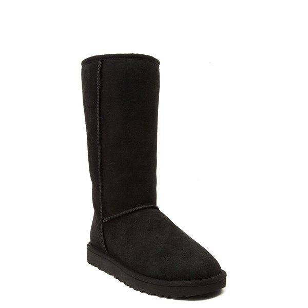 alternate view Womens UGG® Classic Tall II Boot - BlackALT1