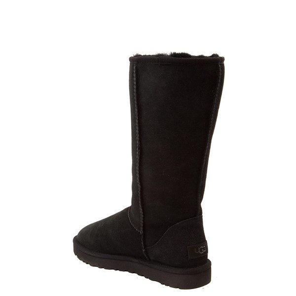 alternate view Womens UGG® Classic Tall II Boot - BlackALT2