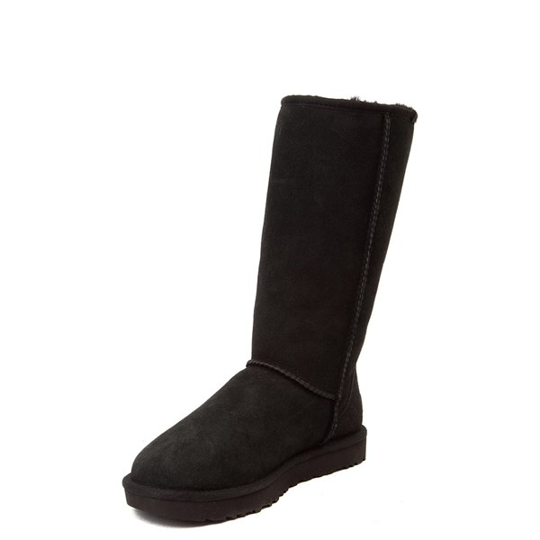 alternate view Womens UGG® Classic Tall II Boot - BlackALT3