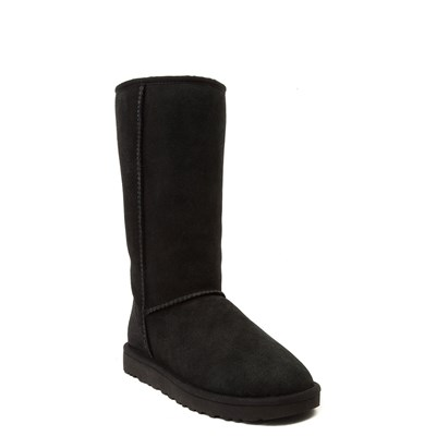 Alternate view of Womens UGG® Classic Tall II Boot - Black