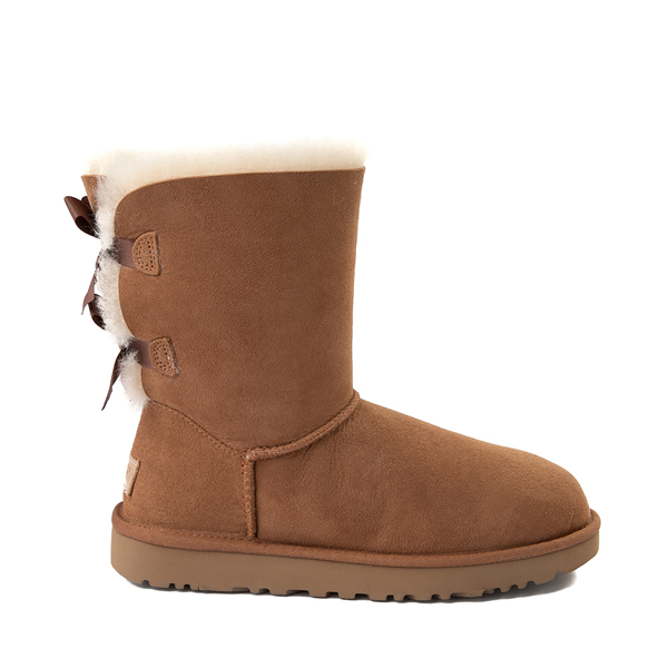 Main view of Womens UGG® Bailey Bow II Boot - Chestnut