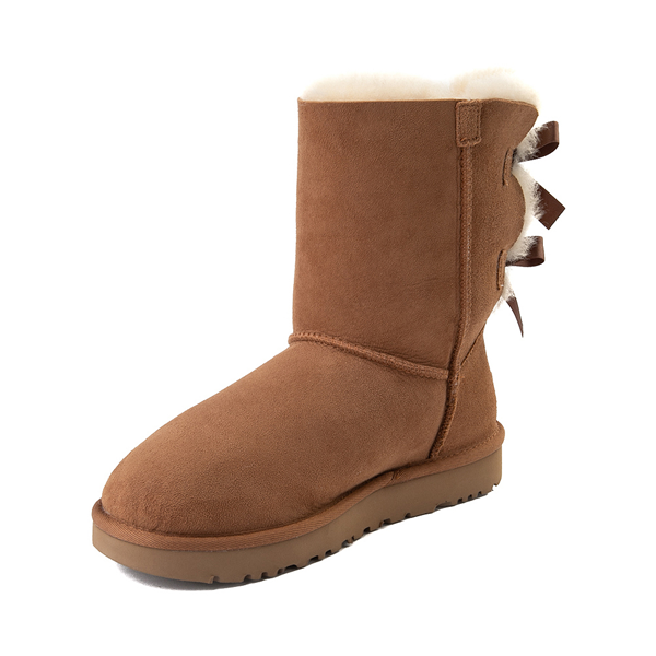 alternate view Womens UGG® Bailey Bow II Boot - ChestnutALT2