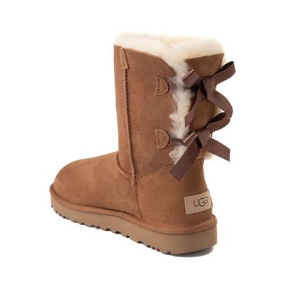 Alternate view of Womens UGG® Bailey Bow II Boot - Chestnut