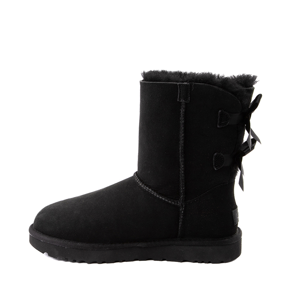 alternate view Womens UGG® Bailey Bow II Boot - BlackALT1