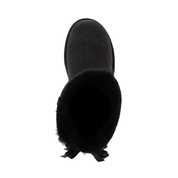 alternate view Womens UGG® Bailey Bow II Boot - BlackALT2