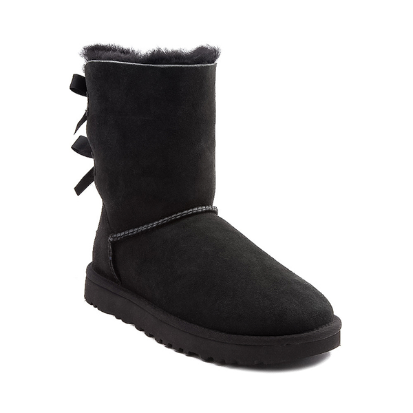 alternate view Womens UGG® Bailey Bow II Boot - BlackALT5